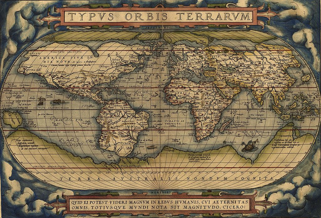 世界の舞台 地図