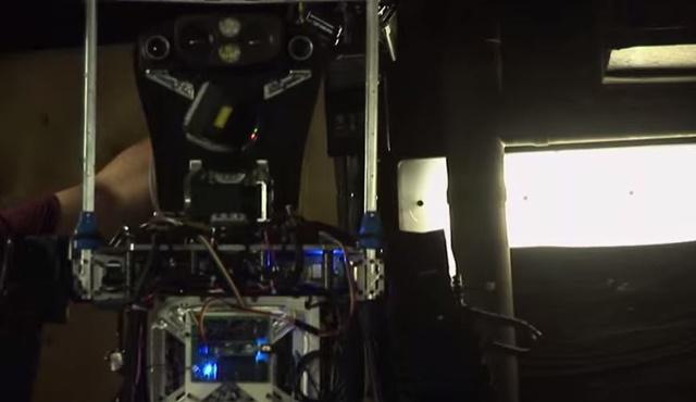 アメリカ海軍 消防ロボット2