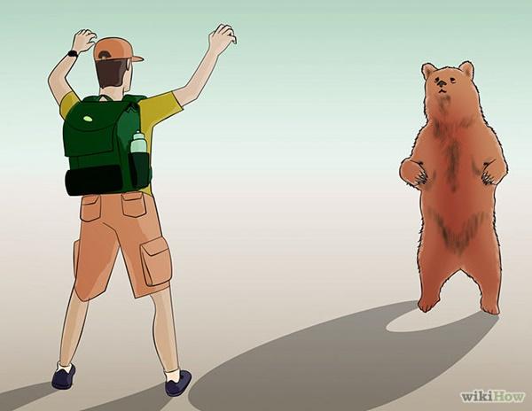 熊を逃れる方法1