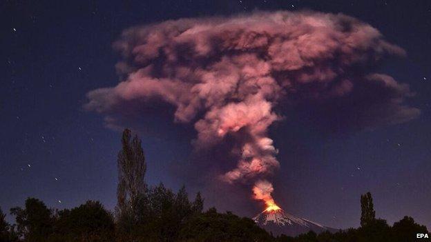 チリ 噴火4