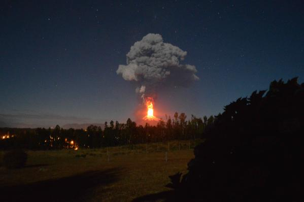チリ 噴火1