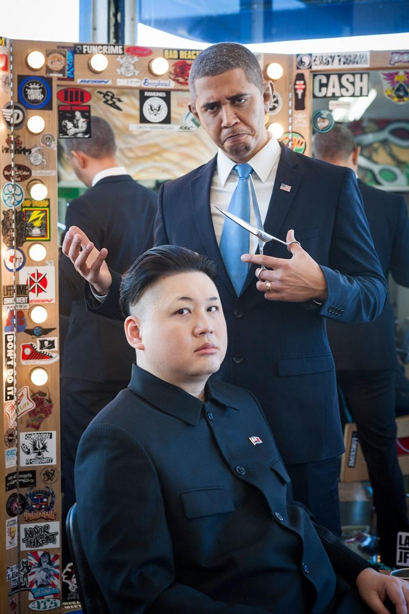 オバマ 金正恩 そっくりさん1