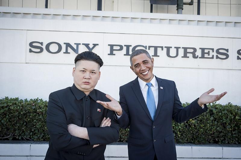 オバマ 金正恩 そっくりさん