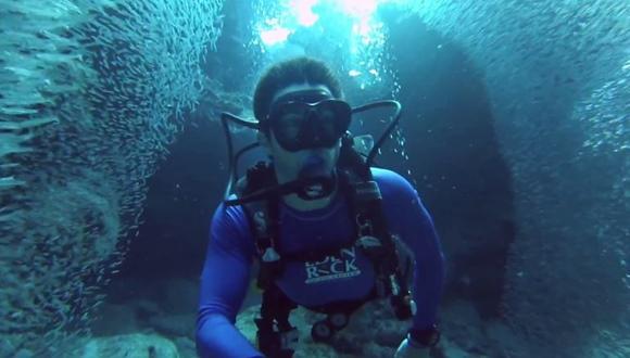 魚のトンネル