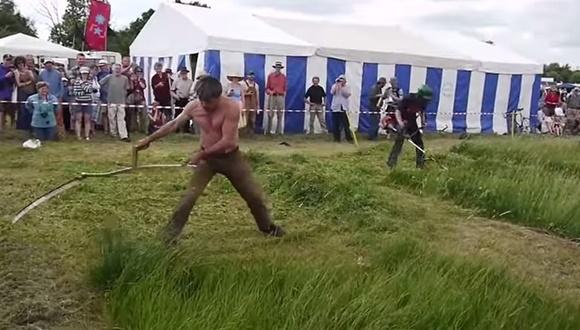 イギリス 草刈りレース