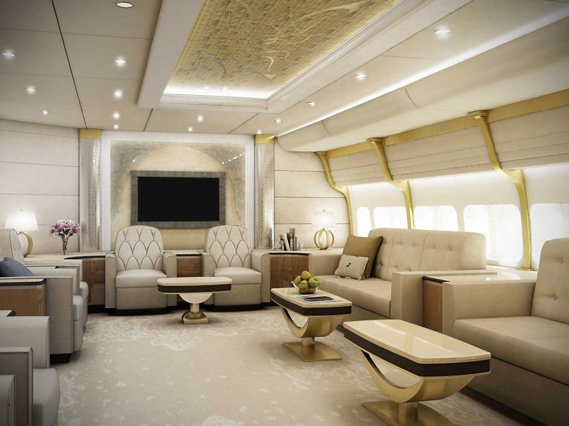 VIP用ボーイング747 1