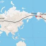 ロンドンからニューヨークまでドライブ?ロシア提案の壮大な道路建設計画