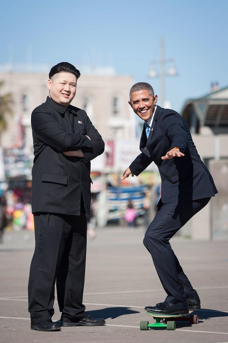 オバマ 金正恩 そっくりさん3