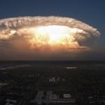 【画像】まるで核爆発、テキサス州上空に巨大な「スーパーセル」