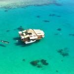 酒飲みじゃなくても1度は行ってみたい、マリンブルーの海に浮かぶバー「クラウド9」