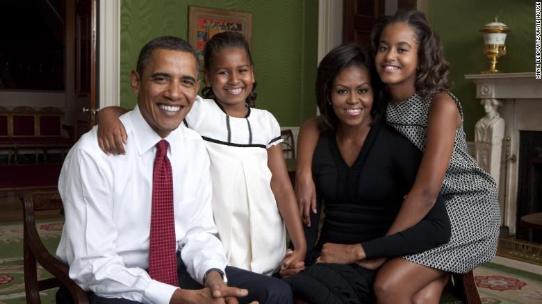 オバマ大統領一家 2009年