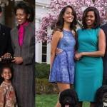 【画像】オバマ大統領一家の10年前と今に時の流れを感じる
