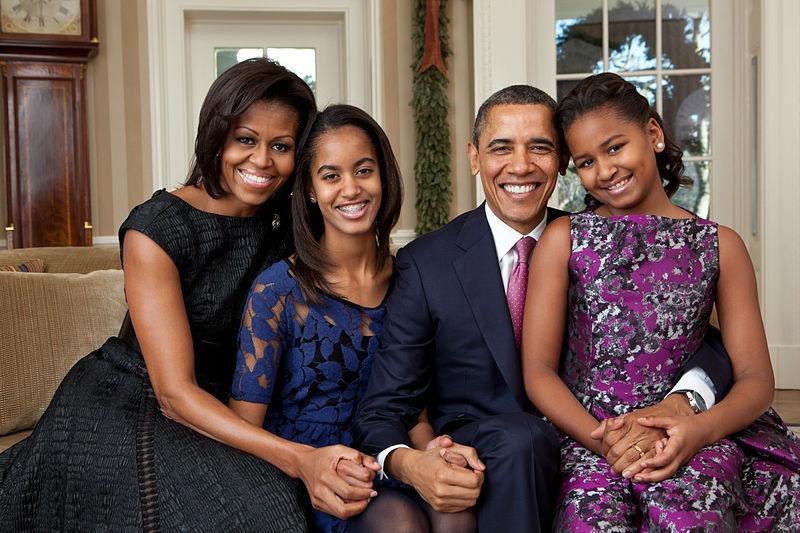 オバマ大統領一家 2011年