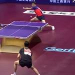 【動画】卓球すごい!!世界最高峰がみせる15秒間のスーパーラリー