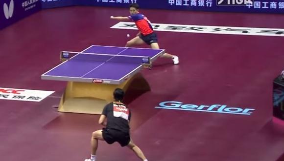 卓球世界選手権2015 スーパーラリー