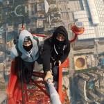 恐ろしすぎる不法侵入 ロシア人2人組が中国深センの超高層ビルの屋上に無断で登頂