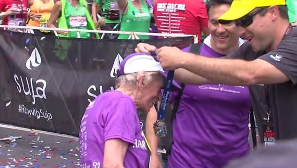 マラソン 女性 最年長