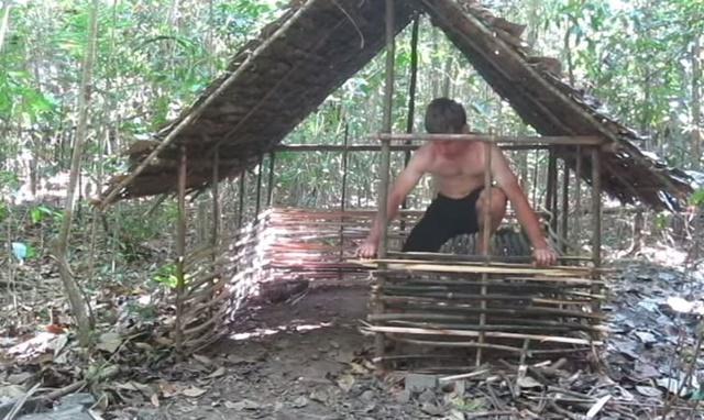 手作り 小屋 ジャングル2