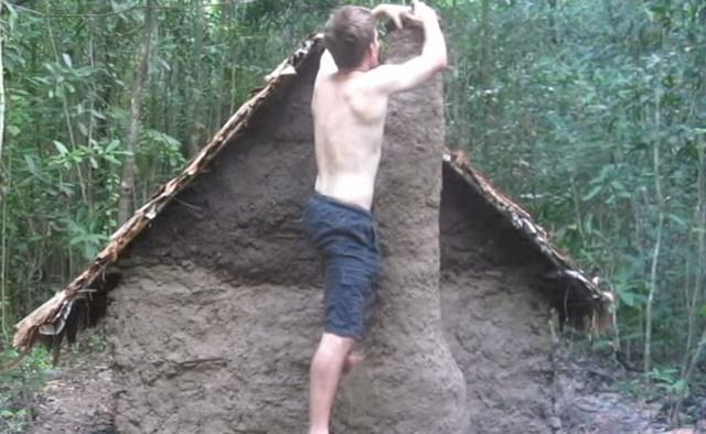 手作り 小屋 ジャングル4
