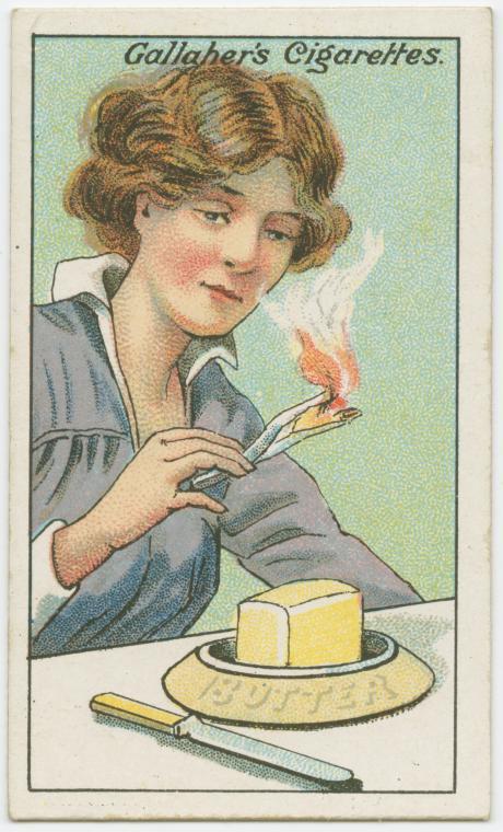 100年前のライフハック バター