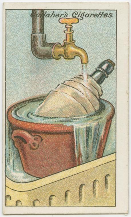 100年前のライフハック ワインを冷やす