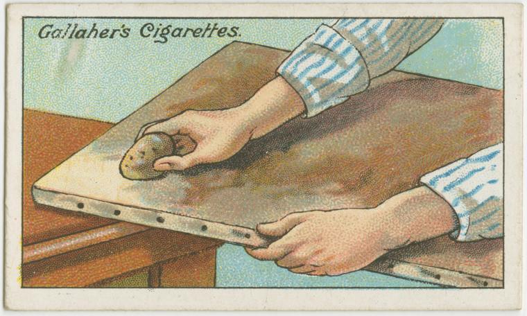 100年前のライフハック 油絵