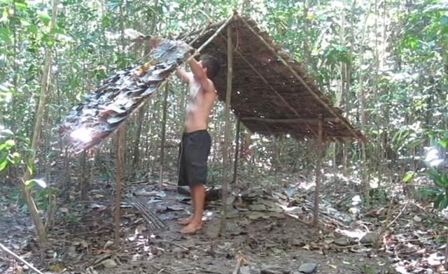 手作り 小屋 ジャングル1