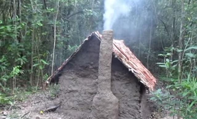 手作り 小屋 ジャングル5