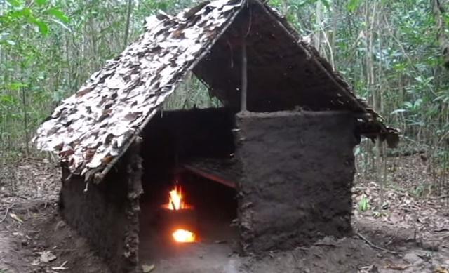 手作り 小屋 ジャングル3