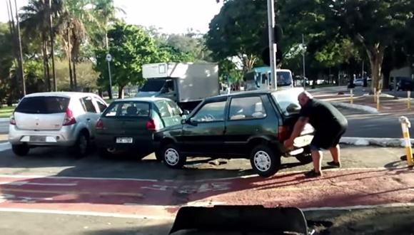 迷惑駐車 持ち上げる