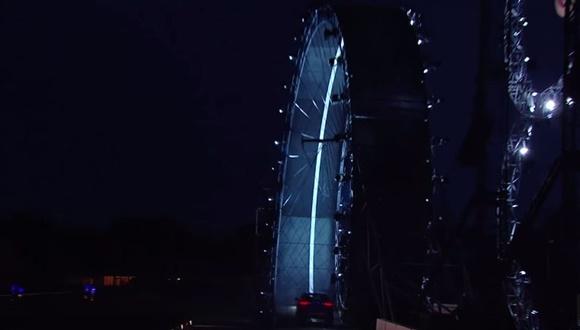 ジャガー 360度ループ