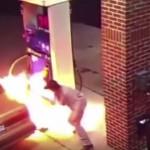 男がうっかりミスでガソリンスタンド放火 「ライターでクモを退治しようとした」