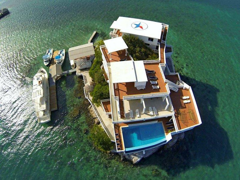 グアナハ島 海上リゾート10