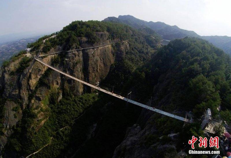 中国 ガラス橋5