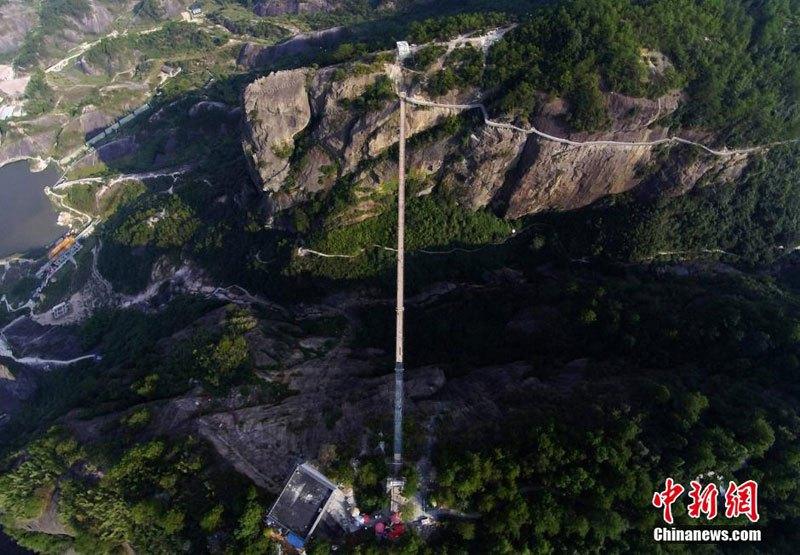 中国 ガラス橋1