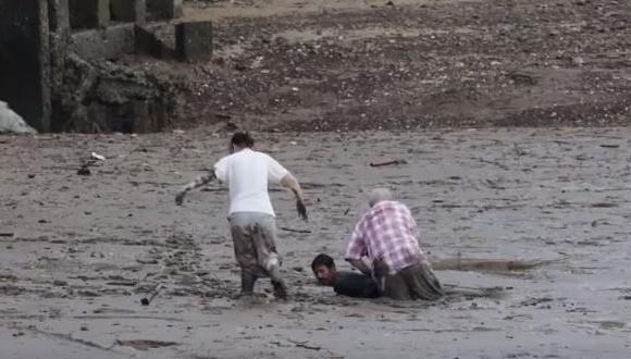 タイ 救出 泥