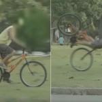 【盗人ホイホイ】トラップを仕掛けて自転車泥棒をこらしめるイタズラが最高