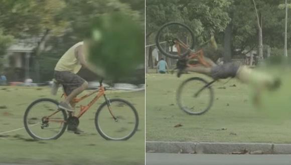自転車泥棒 トラップ