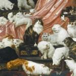 【アメリカ】猫マニアの富豪が超巨大な猫の絵画を1億円で落札