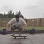 【ミニドキュメンタリー】スケボー超初心者が5時間47分の練習でキックフリップに成功