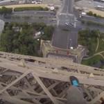 エッフェル塔に丸腰で登頂、緊張感たっぷりのヘッドカメラ映像が話題
