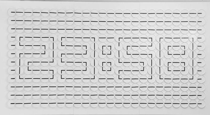 デジタル風アナログ時計