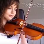 【努力は実る】バイオリン初心者の上達過程を記録した2年間