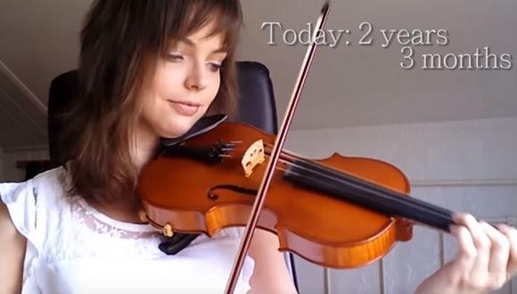 バイオリン 上達
