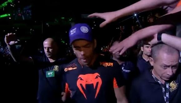 UFC 帽子泥棒