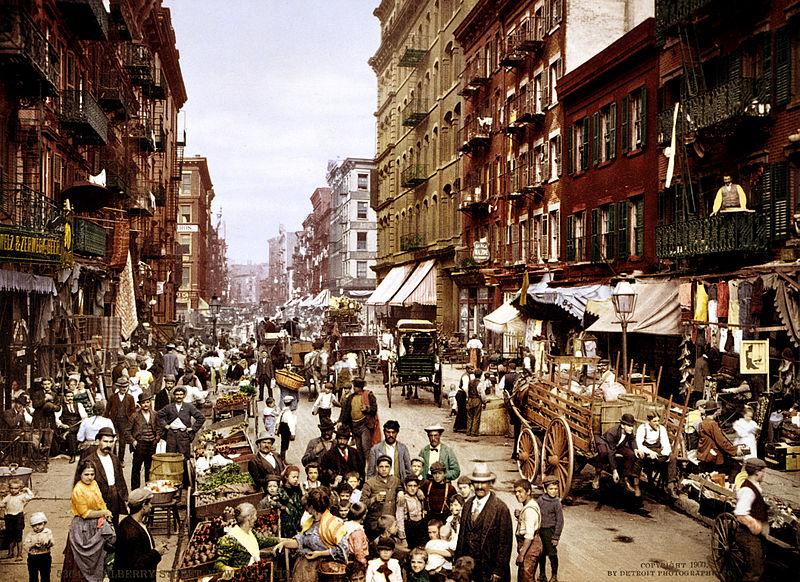 マルベリー・ストリート 1900年