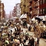 【画像】ニューヨーク・リトルイタリーの「マルベリー・ストリート」、1900年