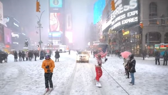 ニューヨーク スノーボード