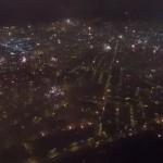 【動画】ドローンが空撮、花火の海となるペルー首都の新年