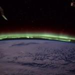 【画像】国際宇宙ステーションから見るオーロラ